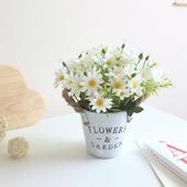 小雛菊仿真花盆景