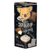 《樂天LOTTE》小熊餅家庭號-香草可可風味(195g)