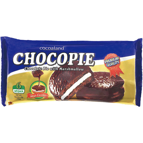 《Cocoaland》巧克力風味派-150G/包(黑巧克力)
