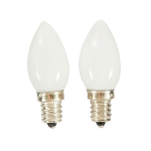 《FP》LED燭台燈泡-黃光(0.6W/ E12 / 2入)