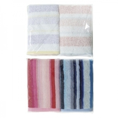 《GEMINI》炫彩條紋毛巾混款2入組(顏色隨機出貨)(34*76cm/SB569K)