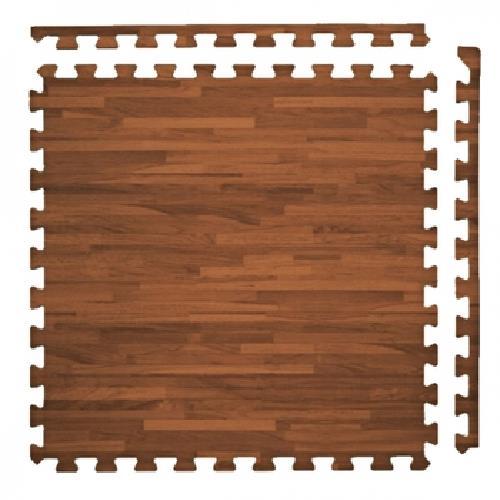 耐磨仿木紋地墊4入 (附2邊條)(45*45*1.2cm±1mm)