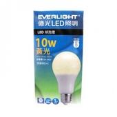 《億光》LED燈泡黃光(10W)