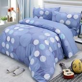 《Victoria》純棉枕套(1入) 藍點(45*74cm)
