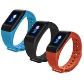 《IS愛思》HM18 彩色螢幕心率偵測血壓管理運動智慧手環(黑色)