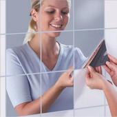 正方形鏡面貼-9片