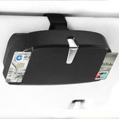 (升級款)多功能車用收納眼鏡盒18*10*5CM $279