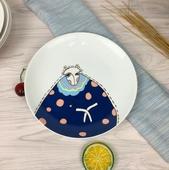 北歐創意塗鴉8吋餐盤