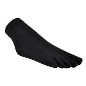 《旅行家》防黴3D五趾短襪 24-27cm(黑色)