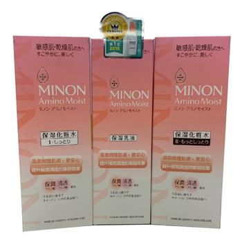 MINON保濕潤澤化粧水-清爽型 I(150ml/瓶)