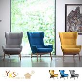 《YKS》喬村。沐光系列老虎椅/造型椅(三色可選)(藍色)