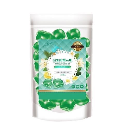 《奇檬子》五合一白金香氛洗衣膠球 20顆(清新花香)