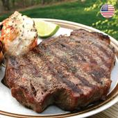 《欣明生鮮》美國安格斯總統級霜降牛排~超厚切(600公克±10%/片)(*1包)