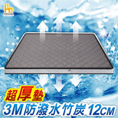 《ASSARI》3M防潑水3D冬夏二用12cm日式床墊-單人3尺