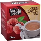 《巴迪》奶茶-極品特濃25gX12/盒(荔枝風味)
