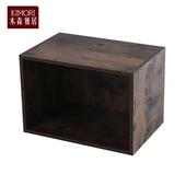《木森雅居》KIMORI S-Cabinet可堆疊收納櫃(仿木色款)