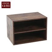 《木森雅居》KIMORI S-Cabinet可堆疊層板櫃/收納櫃(仿木色款)