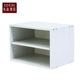 《木森雅居》KIMORI S-Cabinet可堆疊層板櫃/收納櫃(木紋白款)