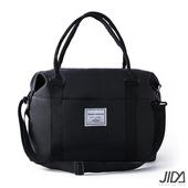 《韓版》輕時尚290T防水手提/肩背旅行收納袋(黑色)