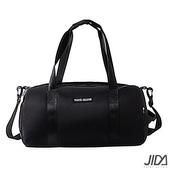 《韓版》輕時尚290T防水運動/旅遊收納包(黑色)