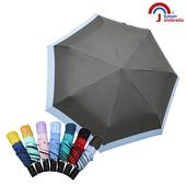 【Kasan 晴雨傘】畢卡索雙色降溫防風自動晴雨傘(卵石灰)