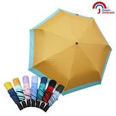 【Kasan 晴雨傘】畢卡索雙色降溫防風自動晴雨傘哈密橘 $199