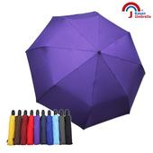 《【Kasan 晴雨傘】》新大無敵自動開收雨傘(深紫)