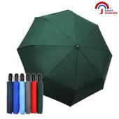 《【Kasan 晴雨傘】》大無敵自動開收雨傘(墨綠)