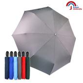 《【Kasan 晴雨傘】》大無敵自動開收雨傘(鐵灰)