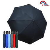 《【Kasan 晴雨傘】》大無敵自動開收雨傘(純黑)