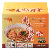 《味王》乾麵達人 南洋酸辣拌麵(90g*5包)