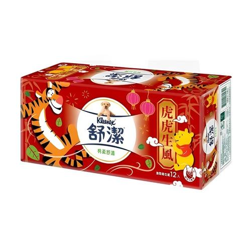 舒潔 玩具總動員棉柔舒適抽取式衛生紙(100抽X12包)