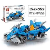 迷你積木-賽車系列 15*5*4.5cm藍02 $199