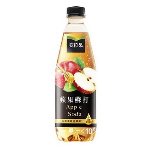 《美粒果》蘋果蘇打(PET 500ml/瓶)