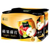《美粒果》蘋果蘇打(330ml x6/組)