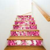 愛心糖果3D樓梯貼-18x100cm
