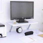 《頂堅》寬60公分(Z型)桌上型置物架/螢幕架(二色可選)(素雅白色)