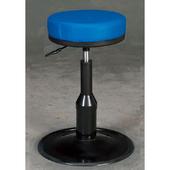 《IN 生活》彼斯特厚墊圓盤吧台椅(藍*黑*紅*低)(藍皮)