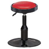 《IN 生活》吉瑞吧台椅(紅/黑)(紅色)
