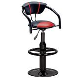 《IN 生活》奇也納吧台椅(紅黑)(紅黑)