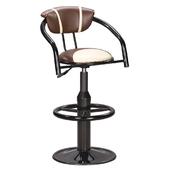 《IN 生活》杜歐圓盤吧台椅(咖啡)(咖啡)
