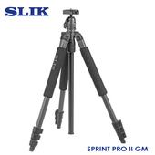 《日本 SLIK》Sprint Pro II GM 附SBH-100DQ球型雲台 鐵灰SLIK系列-9折