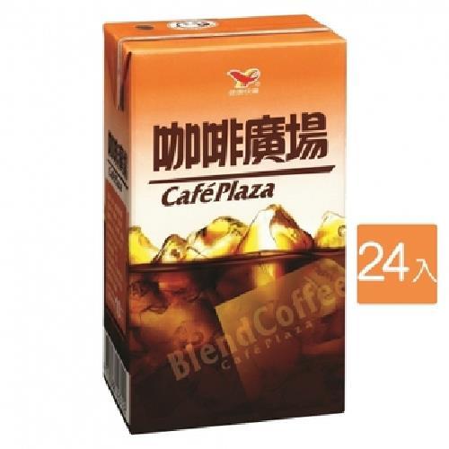 《統一》咖啡廣場(300ml*24包/箱)