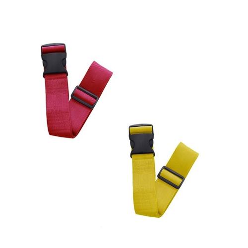 《JIDA》純色加長加寬十字文束帶-顏色隨機(200X180X5 cm)