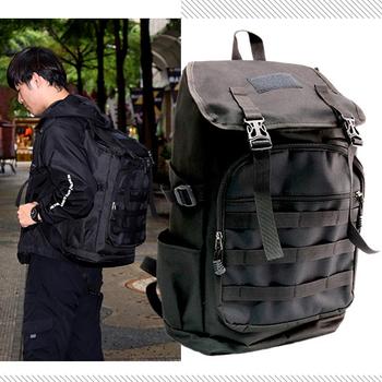 大容量旅行後背包/脫單包(黑色)