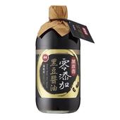 《萬家香》零添加黑豆醬油(450ml/瓶)