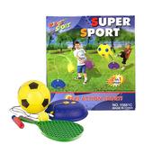 《艾可兒》二合一兒童足球網球練習組