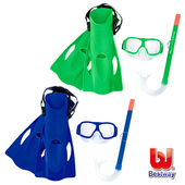 《艾可兒》Bestway兒童浮潛/潛水套裝組