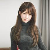 《幸福揚邑》微卷長直髮美拍直播造型必備女用整頂假髮(深棕色)