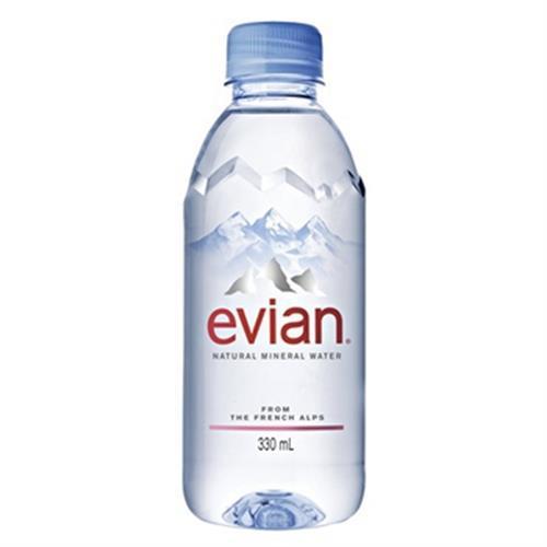 法國evian 依雲天然礦泉水(330ml/瓶)